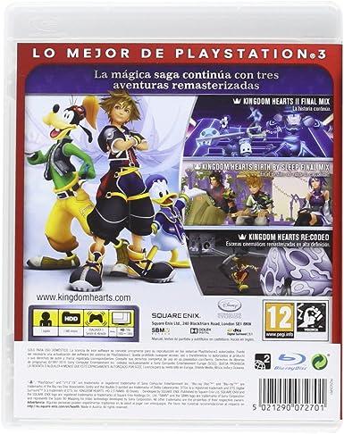 Kingdom Hearts HD 2.5 Remix - Reedición: Amazon.es: Videojuegos