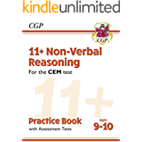 11+ CEM Non-Verbal Reasoning Practice Book & Assessment Tests - Ages 9-10 : perfect preparation for the eleven plus (CGP…