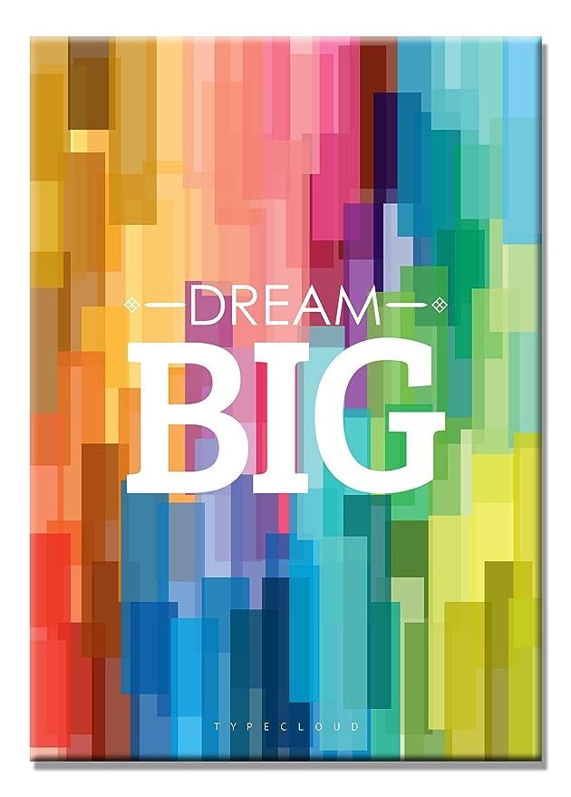 SEVEN WALL ARTS Sieben Wand Arts Motivational und Inspirierende Poster Art Print auf Leinwand Ideal für Büro Oder Kids Room D