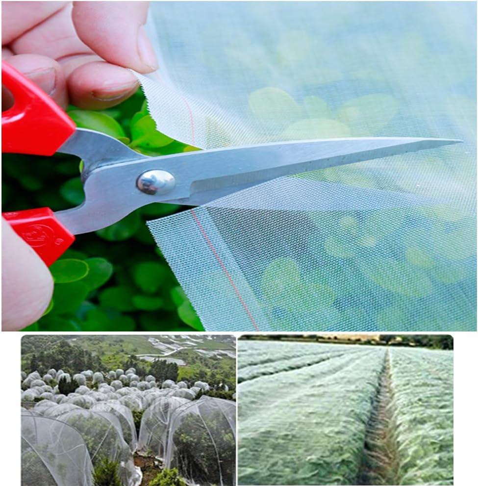 APOE Malla Vegetales Jardin Red de Protección contra Insectos para Plantas Huerto Malla Protectora Reutilizable Crecer Túnel Malla Fina para Evitar Insectos y Pájaros