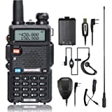 BaoFeng UV-5R Walkie Talkie Ham Two Way Radio with 2 1800mah UV-5R Batteries