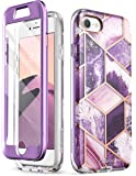 i-Blason Cosmo Series Designed for iPhone SE 2020 Case/iPhone 7 Case/iPhone 8 Case, [Built-in Screen Protector] Stylish…