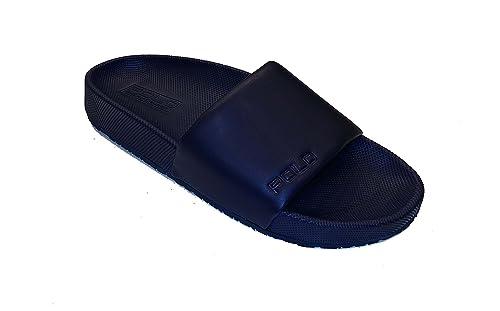 38999bf5d9d7 Polo Ralph Lauren Cayson Sandals Blue 10 UK  Amazon.co.uk  Shoes   Bags