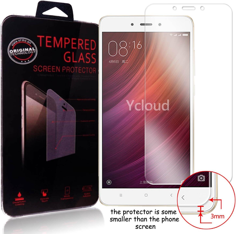Ycloud Pellicola Protezione di schermo per Xiaomi Redmi Note 4 in vetro temperato Ultra Resistente Protezione Esterna Durezza 9H (0,26mm HD Transparent High)