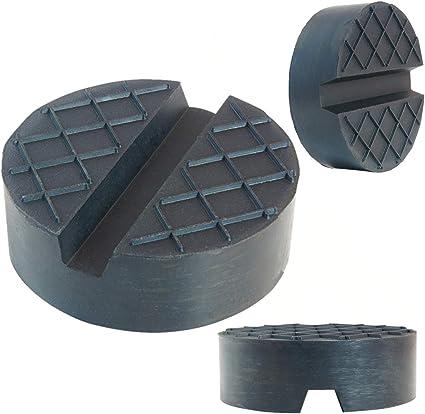 Sarian 75x25mm Gummiauflagen Für Wagenheber Rangierwagenheber Universal Gummiblock Für Kfz Pkw Suv Auto