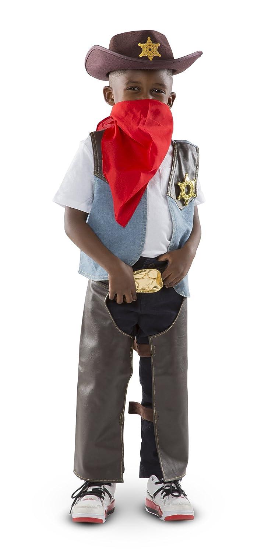 4ef0470bf4b2f Melissa   Doug - 14273 - Disfraces para Niños - Cowboy Costume  Amazon.es   Juguetes y juegos