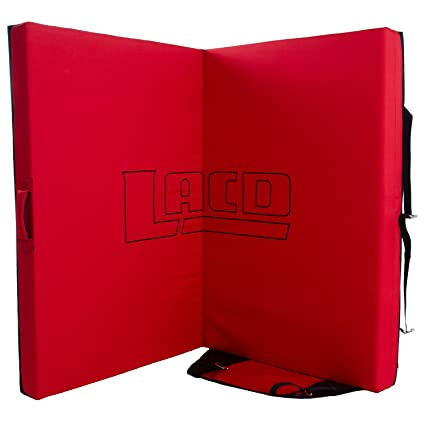 LACD Crash Pad Spot Master 2.0 - Black/Red - One Size ...