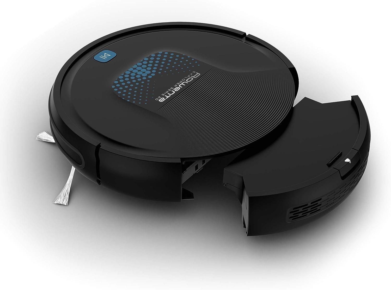 Rowenta Smart Force Explorer Aqua RR6875WH - Robot aspirador con mopa 2 en 1, aspira y friega, 150 minutos de autonomía, limpieza automática, 3 modos de limpieza, mando a distancia (Reacondicionado): Amazon.es: Hogar
