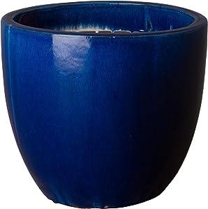 Emissary Home & Garden 0556BL-1 Pot, Blue