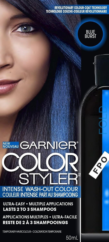 Buy Garnier Intense Wash Out Hair Colour Styler(Blue Burst) Online ...