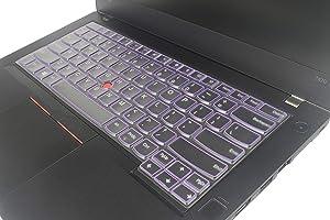 Leze - TPU Keyboard Cover Compatible Thinkpad X1 Carbon 2017 2018, ThinkPad X1 Yoga 2017, ThinkPad E485 L470 T460 T460p T460s T470 T470s E480 E490 L480 T480 T480s T490 T490s T495 T495s Laptop - Purple