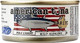 product image for AMERICAN TUNA Wild Albacore Tuna with Garlic, 6 OZ