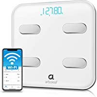 Arboleaf Smart Scale, Wi-Fi Bluetooth Weight Scale, 14 Body Composition Monitor with iOS Android APP, Wireless Cloud…