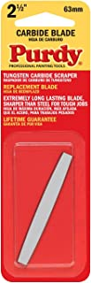 product image for Purdy 144900235 Surface Prep Tool Premium Carbide Scraper Replacement Blades, 2-1/2 inch