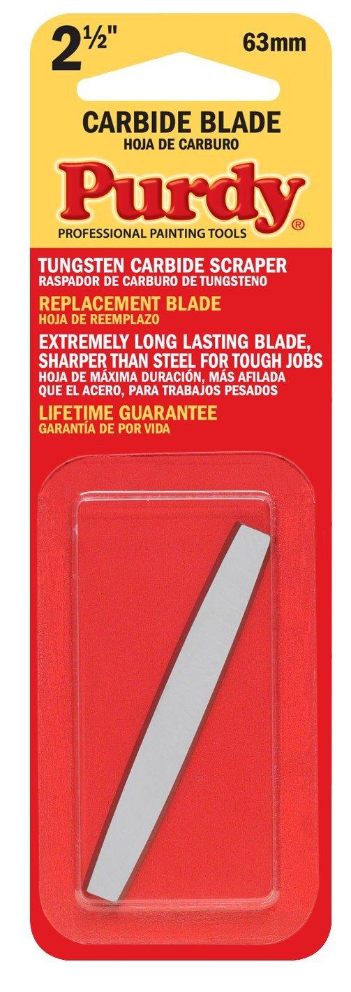 Purdy 140900235 Surface Prep Tool Premium Carbide Scraper Replacement Blades (Case of 10), 2-1/2''