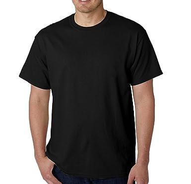 3b574f18 LA POP ART Men's 100-percent Cotton T-shirts (3-Pack) /Black/Black    Amazon.com