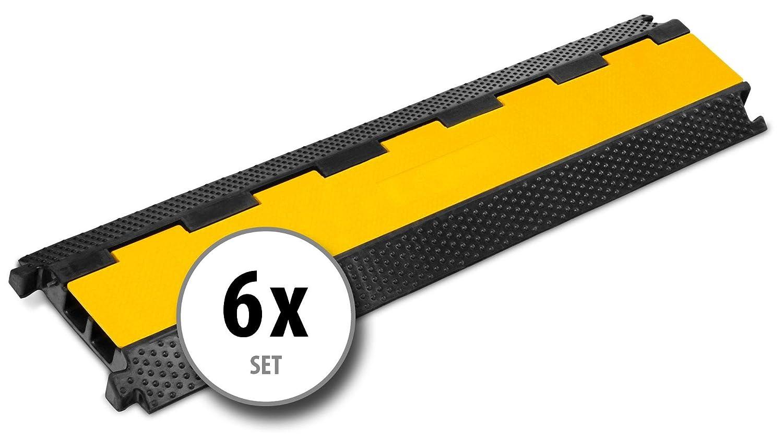 4x Pronomic Protector 5-90L V2 passage de c/âble 5-canaux avec embo/îtement