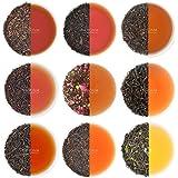 VAHDAM, Black Tea Sampler - 10 TEAS, 50 Servings   100% Natural Ingredients   Brew Hot, Iced, Kombucha Tea   Black Tea Loose