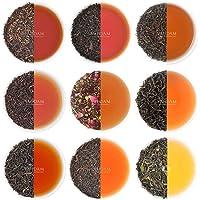 VAHDAM, Black Tea Sampler - 10 TEAS, 50 Servings   100% Natural Ingredients   Brew Hot, Iced, Kombucha Tea   Black Tea…