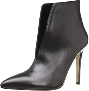 Women's Drima Ankle Bootie Black Leather 10 B US