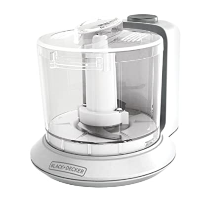 Amazon.com: BLACK+DECKER 1.5-Cup Electric Food Chopper, White ...
