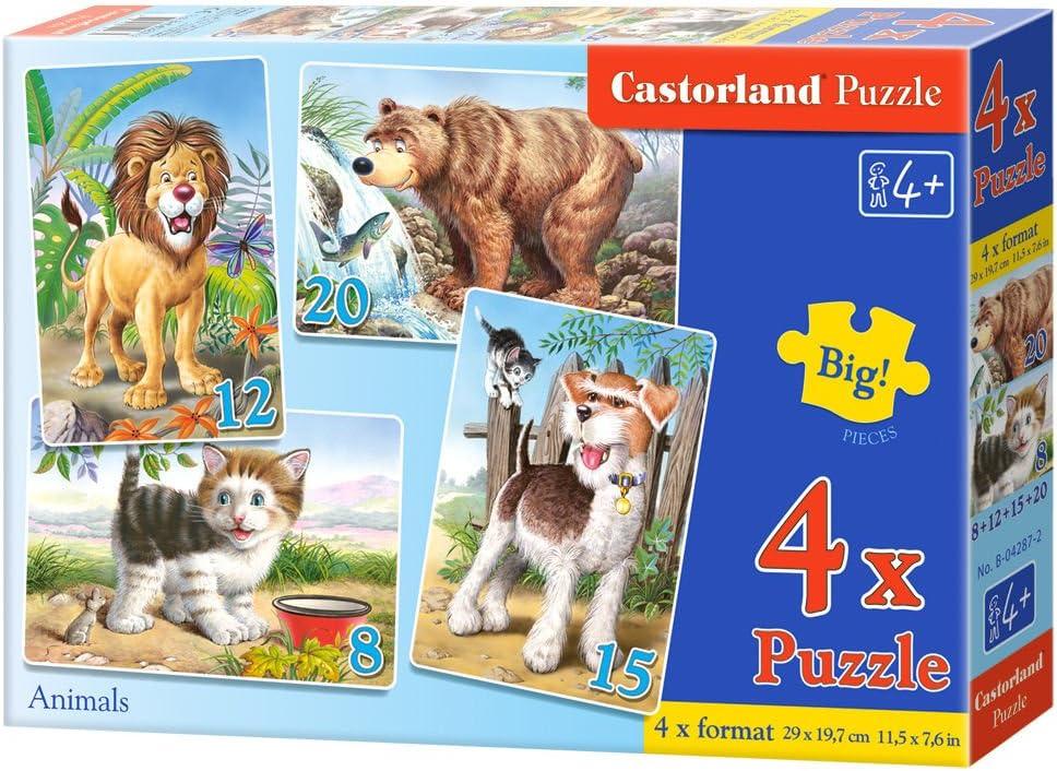 Castorland 4 Animals Jigsaw Premium Puzzle