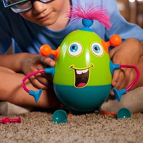 Fat Brain Toys FA124-1 Tobbly Wobbly-Stehaufmännchen/Buildable Buddies