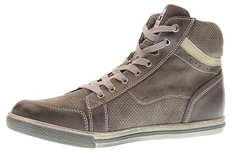Nero Giardini Scarpe Uomo Sneakers Alte P800252U 106 Taglia 41 Grigio Fumo   Amazon.it  Scarpe e borse 7aff185904b