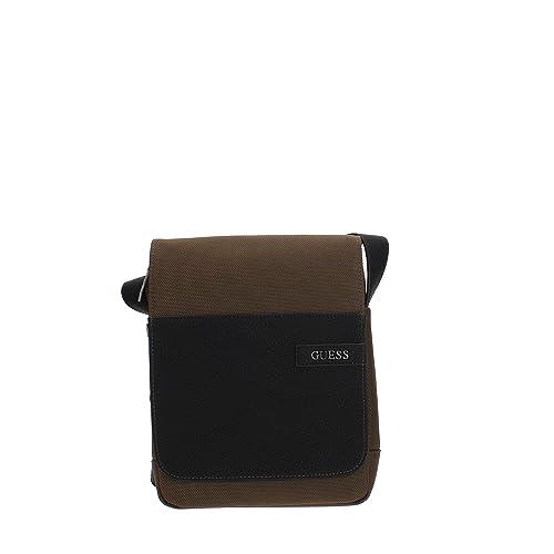 acquisto economico 207ce 7e2b9 Guess HM6395NYL81 Tracolla Uomo DKB TU: Amazon.it: Abbigliamento