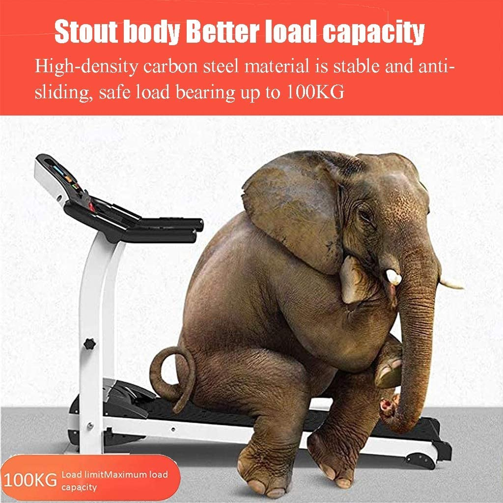 1.0HP Strong motor Gym Equipment Color : B Walking Treadmill Treadmills for Home Foldable Function Electric Treadmill Indoor Fitness Ultra-Quiet Models Running Machine