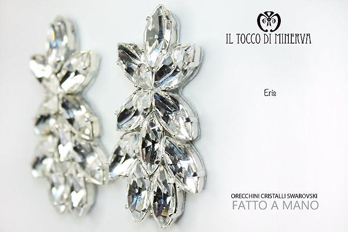 Amazon.com: Earrings Swarovski crystal Eris - Hand Made - Gift Gifts ...