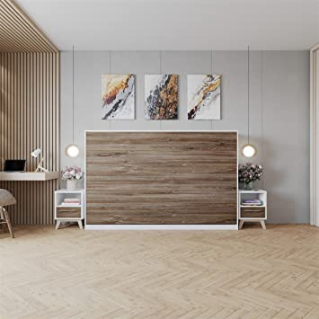 SMARTBett Armoire Lit escamotable Lit Rabattable Lit Mural Basic ...