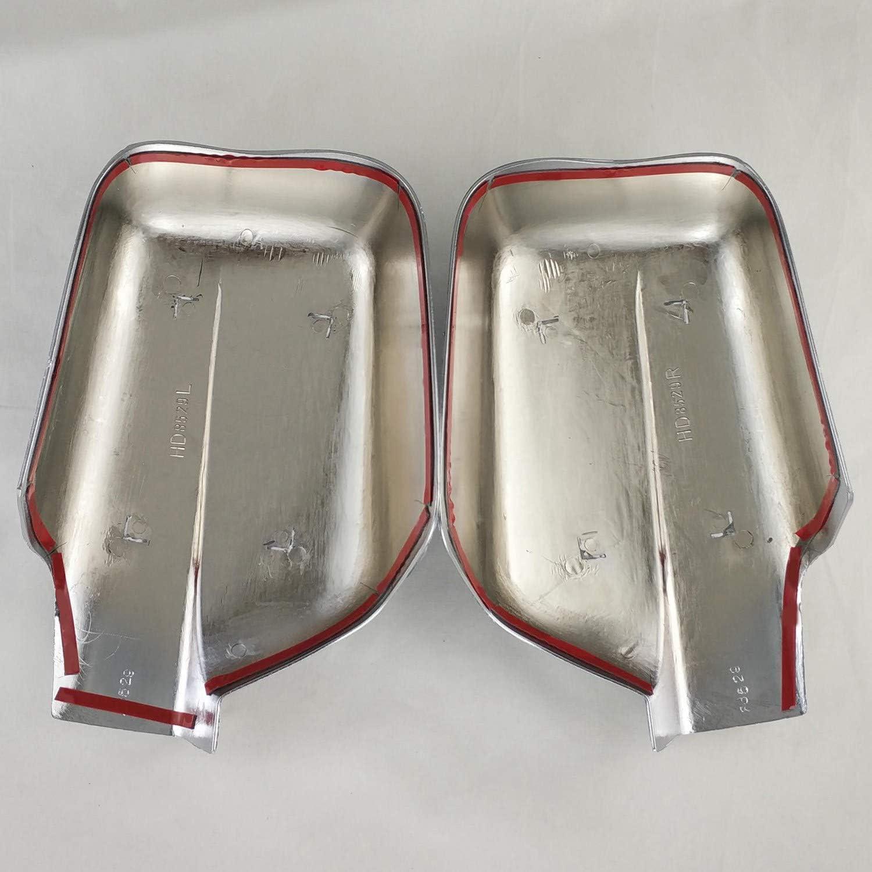 Fauge Le Miroir de Porte de Voiture Couvre la Modification de Voiture pour X-Trail 2002-2010 T30 ABS Chrom/é