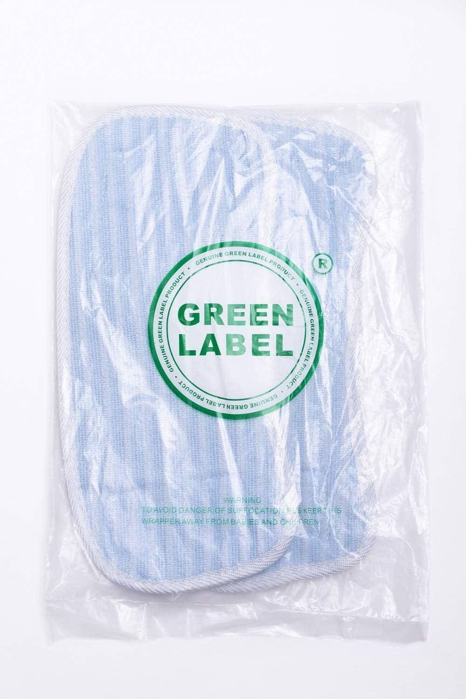 2-er Pack Ersatz-Pads für Hoover SteamJet SSS1500 Dampfreiniger. (Vergleichbar mit AC25, 35601390). Original Green Label Produkt.