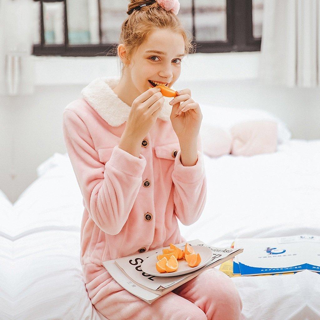 Las señoras : de invierno dulce lindo pijamas mantener cálido traje ...