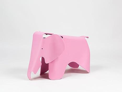 Sgabello per bambini plastica elefante design contemporaneo di