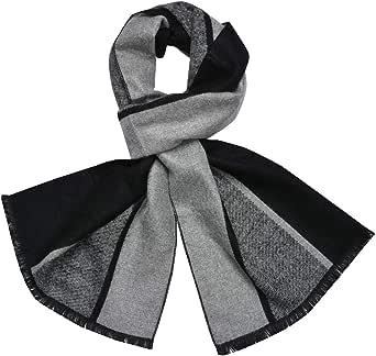 Bufanda estola de un solo color 70x 185cm para otoño e invierno, suave, clásica con borlas en alegres colores
