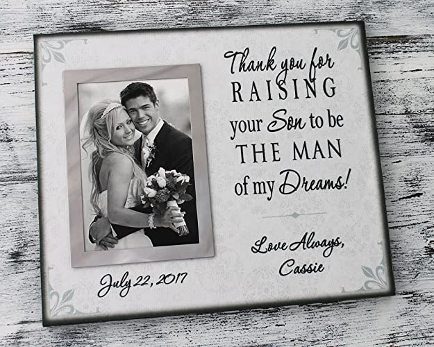 Amazon Parent Wedding Gift From Daughter In Law Personalized