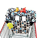 Amazon Price History for:Crocnfrog 2-in-1 Shopping Cart Cover | High Chair Cover for Baby