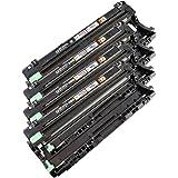 4x Trommel DR241 für Brother MFC-9130 CW,MFC-9140,MFC-9140 CDN,MFC-9142,MFC-9142 CDN