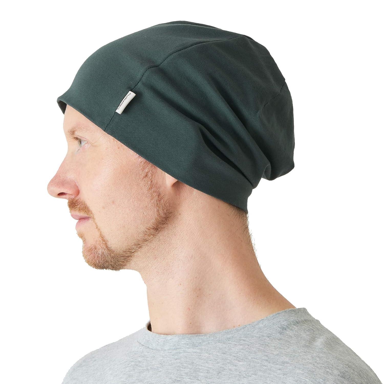 CHARM Casualbox | Cotton Beanie for Men Women Soft Summer Winter Chemo Hat All Season 4589777963252