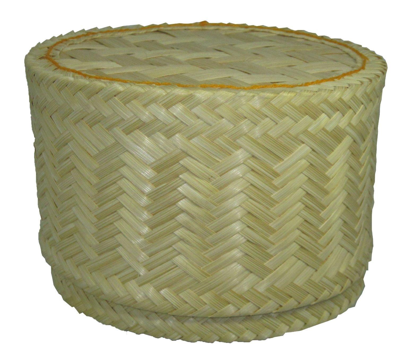 Thai Handmade Sticky Rice Serving Basket large size Thailand