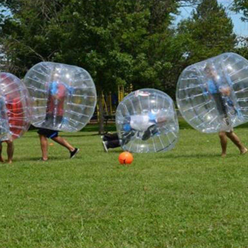 nexttechnology透明0.8 MM PVCインフレータブルバンパーボールEntertainment Human KnockerボールバブルサッカーFootball大人子 B07CM96GW8