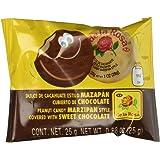 Mazapan cubierto de Chocolate (16 piezas)