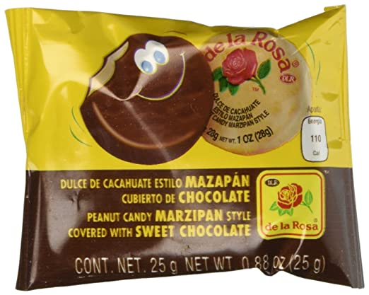 Amazon.com : Mazapan cubierto de Chocolate (16 piezas) : Candy : Grocery & Gourmet Food