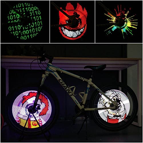 CYCPLUS Bike Spoke Lights - LED Bicycle Wheel Light