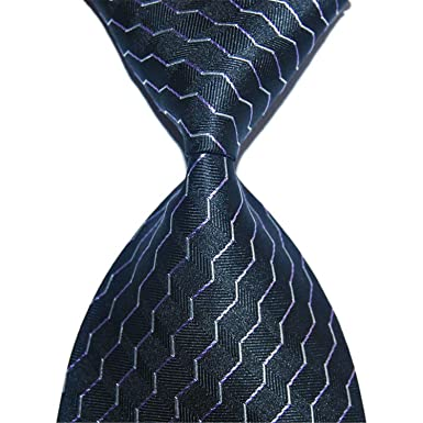 hombre Corbatas Corbata de seda de los hombres corbatas de oro 10 ...