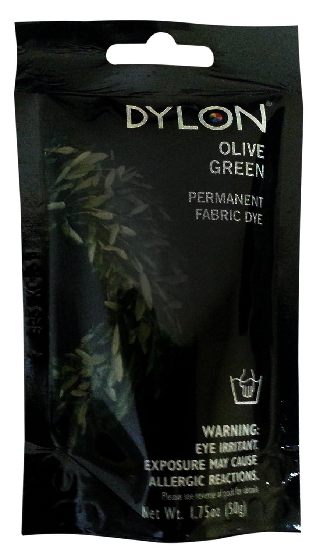 Dylon Permanent Fabric Dye -Olive 87034
