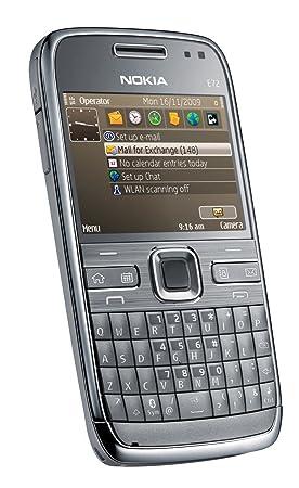 Nokia E72 unlocked Mobile Phone (Metal Grey)