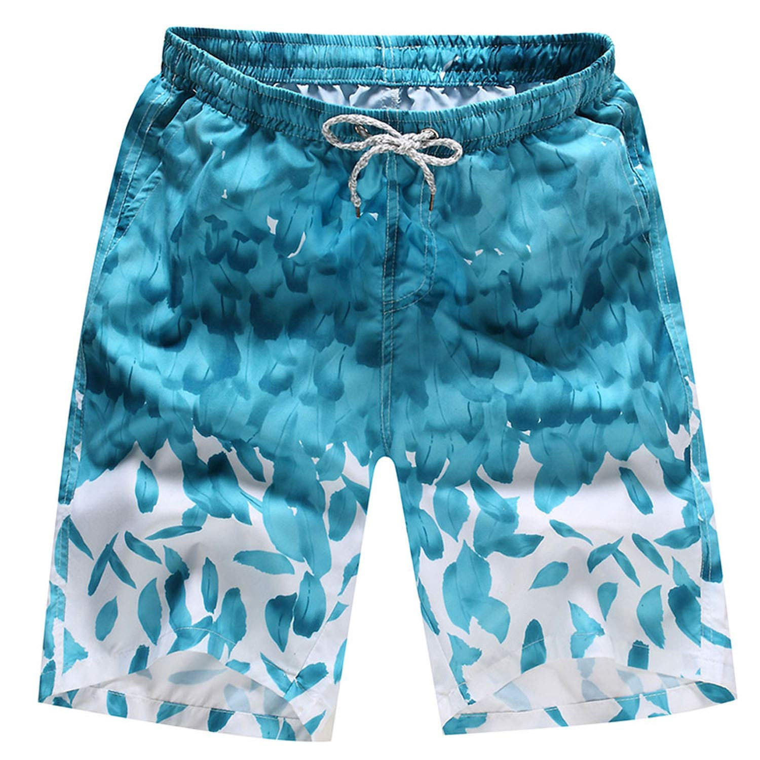 Big Hit Summer Breathable Mens Board Shorts Trunks Beach Board Shorts Swimming Shorts
